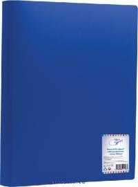 Папка с 80 вкладышами синяя 800 мк F80L2_298